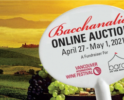 Bacchanalia Online Auction Announced